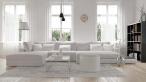 Beautiful bleached hardwood floors by Gehrke's Hardwood Flooring Inc.