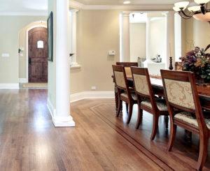 Beautiful hardwood floors and custom inlays in Illinois